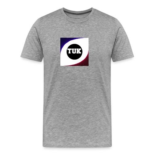new stream and youtube logo - Men's Premium T-Shirt