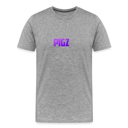Pigz In Purple! - Men's Premium T-Shirt