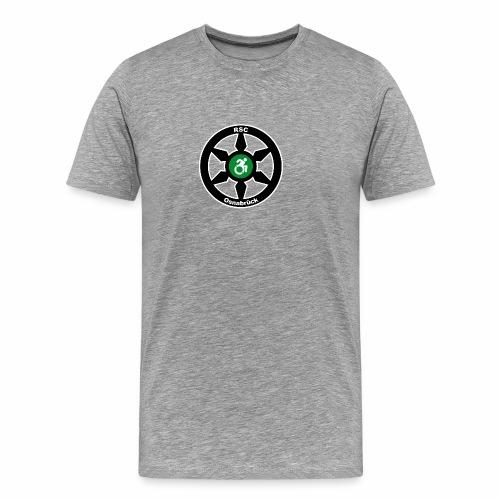 RSClogoRandweissDuenn - Männer Premium T-Shirt
