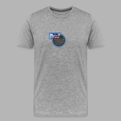 Blue Harvest Moon - Design - Männer Premium T-Shirt