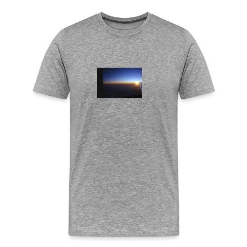 über den wolken - Männer Premium T-Shirt