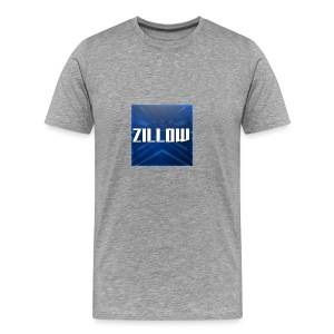Zillow Logo - Men's Premium T-Shirt