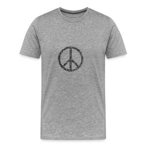 PEACE statement design - Männer Premium T-Shirt