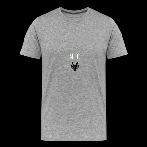 M C Tees NEW Logo on the NEW collection - Men's Premium T-Shirt