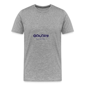 galaxy network redesign - Männer Premium T-Shirt
