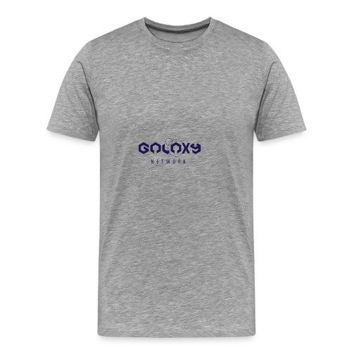 galaxy network redesign - Männer Premium T-Shirt