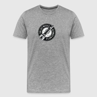 The Last missil raket våben julegave - Herre premium T-shirt