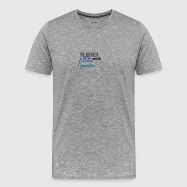 Scanner Operator - Männer Premium T-Shirt