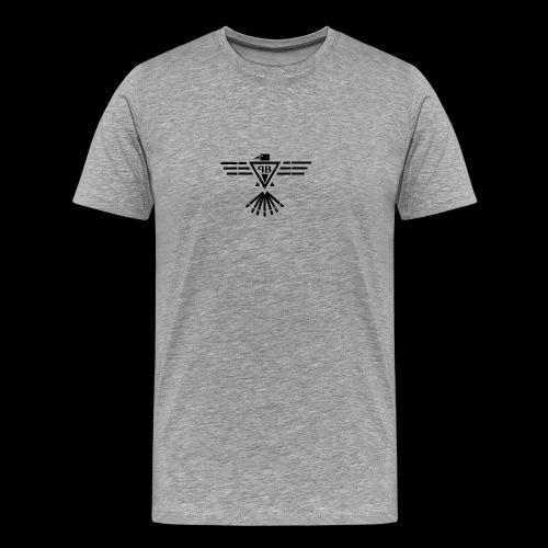 Plage und Basstölpel Logo - Männer Premium T-Shirt