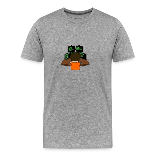 The small coder - Men's Premium T-Shirt