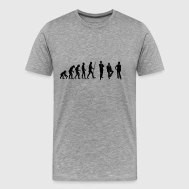 Evolution Konferenz und Meeting im Büro - Männer Premium T-Shirt