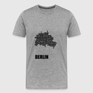Berlin Distrikt - Premium-T-shirt herr