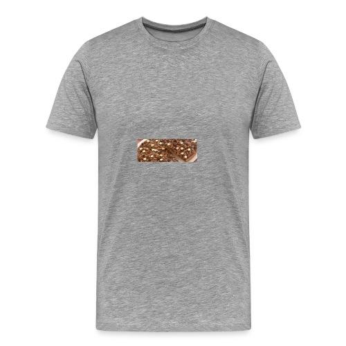 Schokoladen_Pizza - Männer Premium T-Shirt