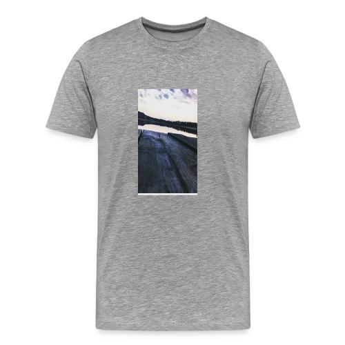 Zachód na roztoczu - Koszulka męska Premium