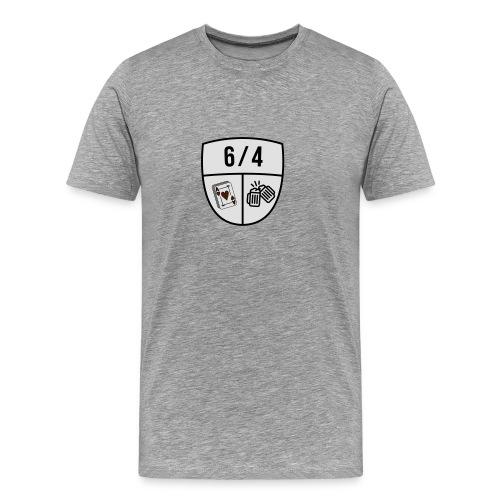 6/4 - Mannen Premium T-shirt
