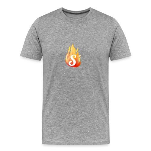 S FLAME [SKILLZ ORIGINAL] - T-shirt Premium Homme