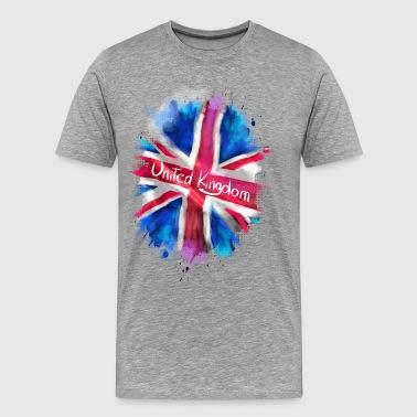 United Kingdom - Premium-T-shirt herr