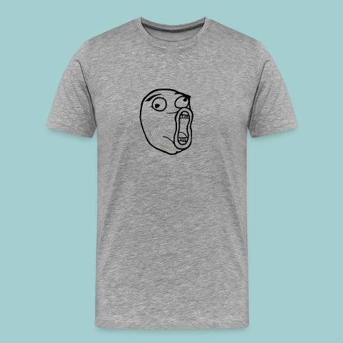 FLUSH troll - Herre premium T-shirt