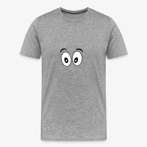 wide eye 1 - Men's Premium T-Shirt