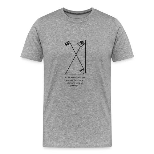 strumenti creativi - Maglietta Premium da uomo