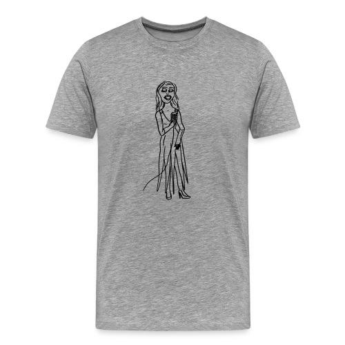 Lucy Lue singing - Männer Premium T-Shirt