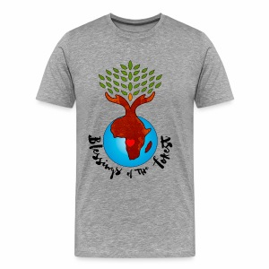 Blessings Of The Forest - Men's Premium T-Shirt