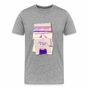 Girl usa - Men's Premium T-Shirt