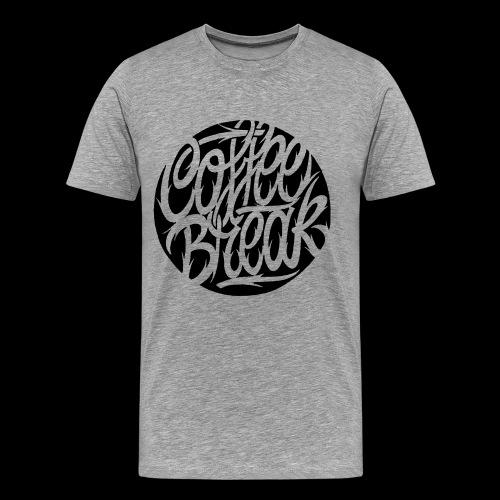 coffeebreakpng - Maglietta Premium da uomo