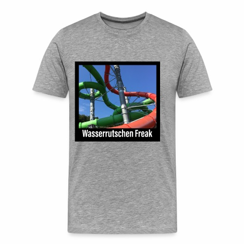 Wasserrutschen Freak - Männer Premium T-Shirt