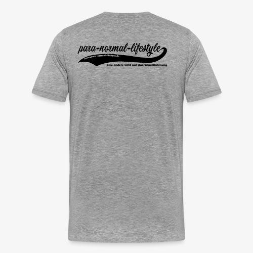 PNL Querschnittlähmung hinten (Aufdruck black) - Männer Premium T-Shirt