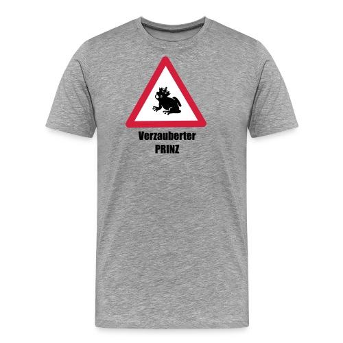 Ich bin ein verzauberter Prinz - Männer Premium T-Shirt