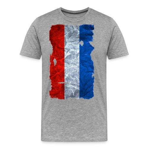 Schleswig-Holstein Fahne / Flagge vintage usedlook - Männer Premium T-Shirt