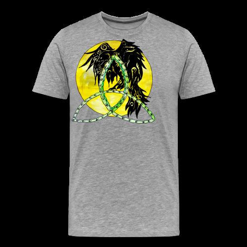 tribalrabe2 - Männer Premium T-Shirt