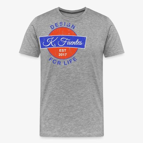 Fuentes Logo - Männer Premium T-Shirt