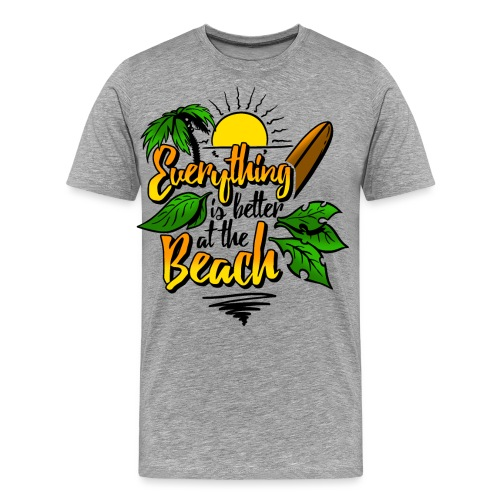 Beach-colour - Männer Premium T-Shirt
