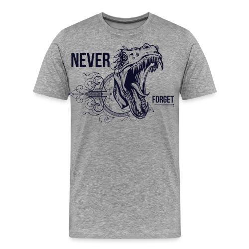 Vintage Dino - Männer Premium T-Shirt
