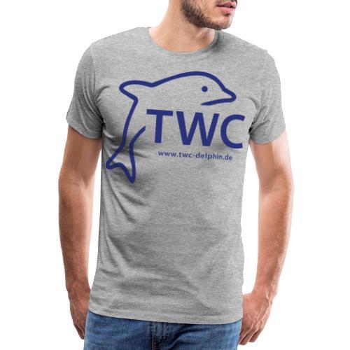 twc blau - Männer Premium T-Shirt