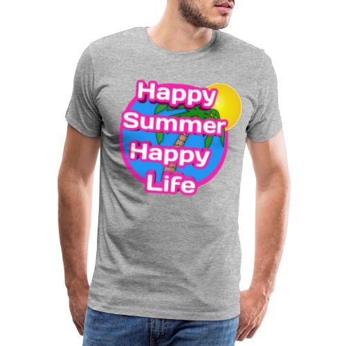 Happy Summer - Mannen Premium T-shirt