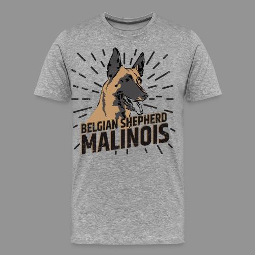 Belgian shepherd - Men's Premium T-Shirt