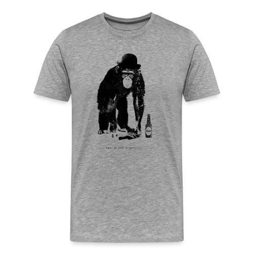 Drunken Monkey - Männer Premium T-Shirt