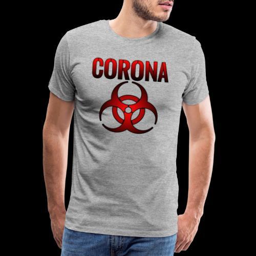 Corona Virus CORONA Pandemie - Männer Premium T-Shirt