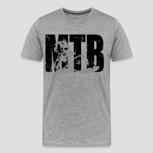 mtb mountainbike - Männer Premium T-Shirt