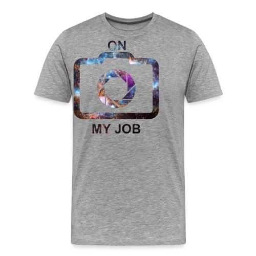 MINUN TYÖN (tilaa) - Miesten premium t-paita