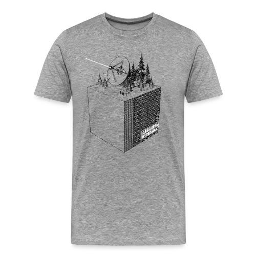 RadioCube - Männer Premium T-Shirt