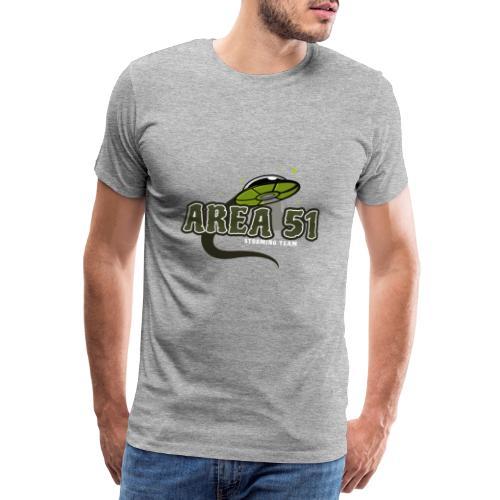 Area 51 Design mit Ufo - Männer Premium T-Shirt