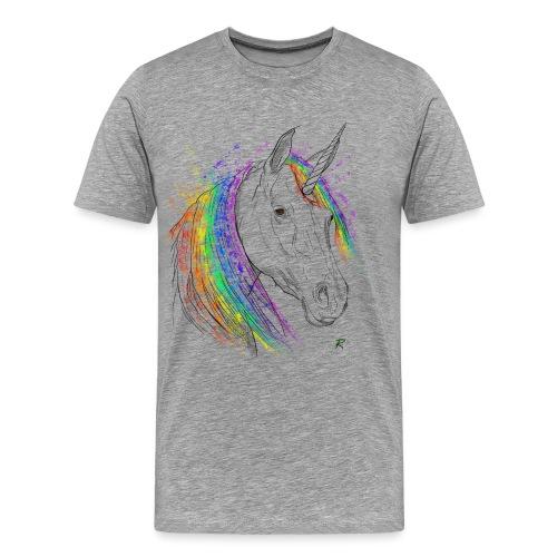 Unicorno - Maglietta Premium da uomo