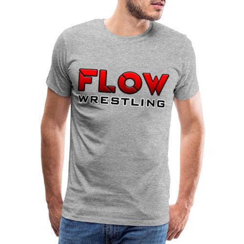 FLOW Wrestling - T-shirt Premium Homme