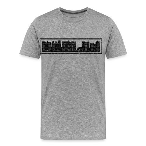 BERLIN SILHOUHETTE - Männer Premium T-Shirt