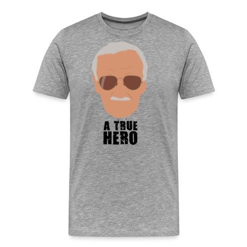 Un verdadero héroe del cómic a color - Camiseta premium hombre