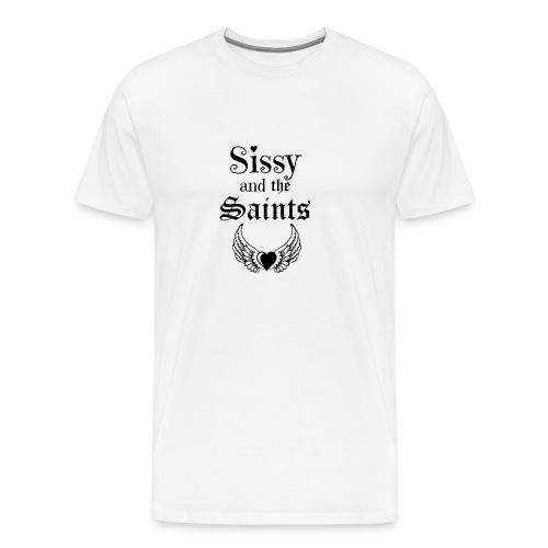 Sissy & the Saints zwarte letters - Mannen Premium T-shirt